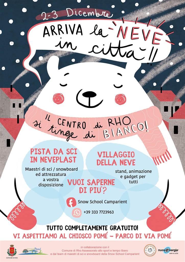2 3 Dicembre Arriva La Neve In Citta